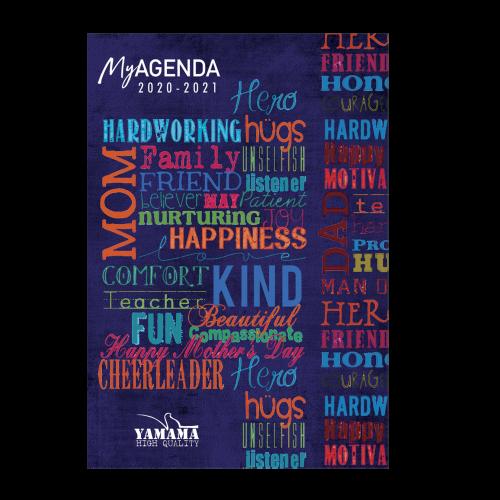 1-Agenda-Scolaire-12x17cm-cartonnée-refermable-avec-aimant