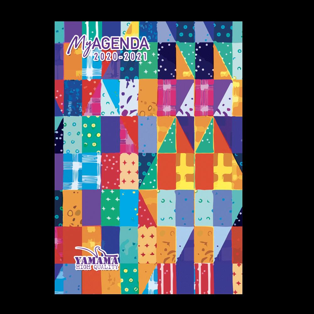 8-Agenda-Scolaire-12x17cm-cartonnée-refermable-avec-aimant