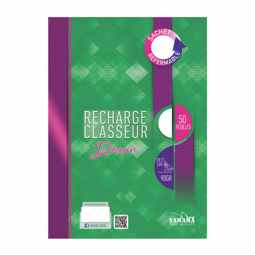 recharge dessin 50f GM
