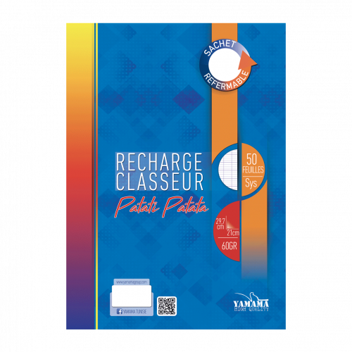 Recharge SYS PATATI.PAT 60G